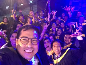 Selfie with the CEO!