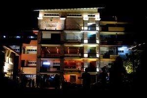 MBA Hall at Night
