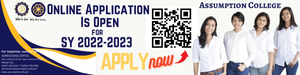 Online College Application Is Open for SY2022-2023.  Apply now!