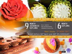 Advanced Diploma in Pastry & Bakery